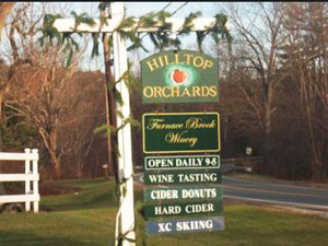 hilltop orchards and winery